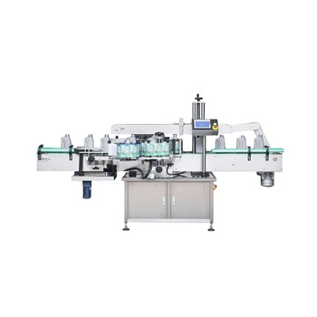Npack High Speed Manufacturing Automatic Two Sides Linear Type Double Head Labeling Machine