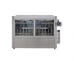 10 Nozzle High Speed Automatic Piston 1l-5l Washing Liquid Disinfectants Filling Machine for Bottle/Pail