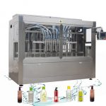Npack Piston Full Automatic Linear Foam Liquid Filling Machine For 5L Plastic Bottle