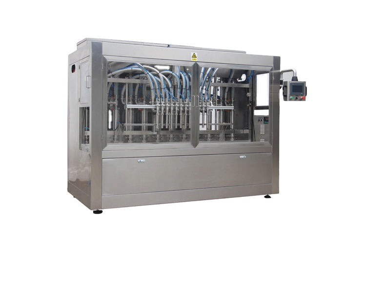 Npack Linear Type Manufacturing Piston Automatic Liquid Filling Machine