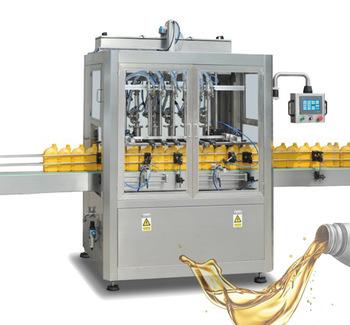 Npack NP-VF Linear Type Motor Piston Automatic Machine Lubricant Filling Machine/Motor Oil Filler Machine in Plastic Bottle