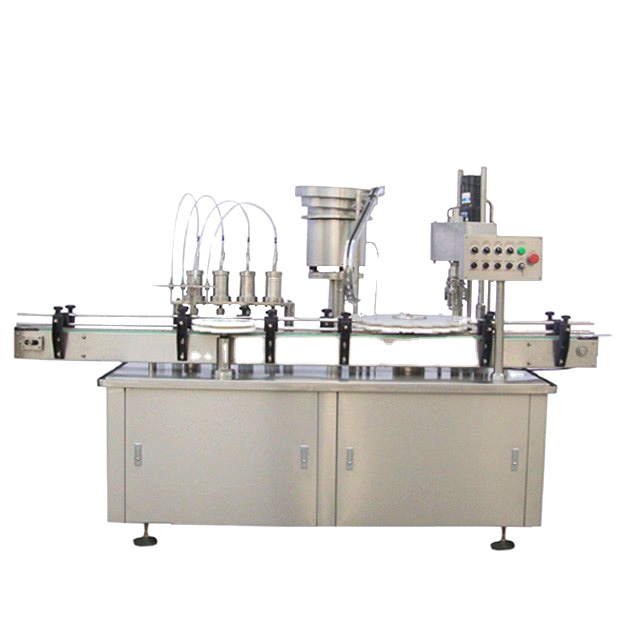 Npack Piston Energy Saving High Speed Automatic 10ml 60ml Essential Oil Filling And Capping Machine