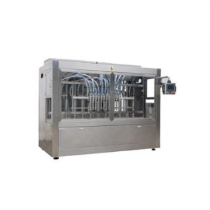 Npack Manufacturing Servo Motor Automatic Piston Shampoo Filling Bottling Machine