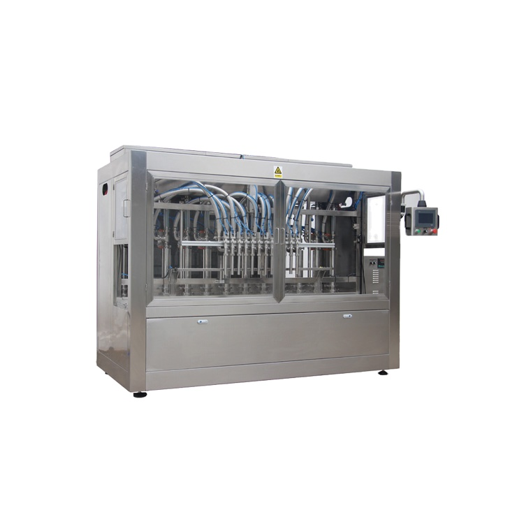 Npack Automatic Servo Motor Piston Anti Foaming Filling Machine for Chemicals with Touch Screen