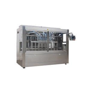 Npack 100ml-1l High Quality Servo Motor Linear Type Manufacture Bottle Bleach Filling Machine