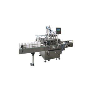 Npack Linear Type Servo Motor Driven Piston Liquid Filling Machine Automatic Chemical Bottle Filler