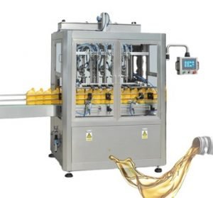 Npack Manufacturing Automatic Servo Motor Driven Hot Sale Linear Type High Volume Filling Oil Machine for Bottle/Pail