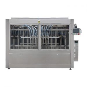 Npack Manufacturing Servo Motor Driven 10 Nozzle High Speed Automatic Piston High Volume Glass Jar Liquid bottle Filling Machine