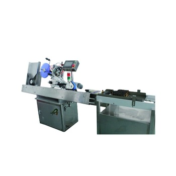 Npack Automatic Vial Bottle High Precision Top Sticker Machine Horizontal Labeling Machine