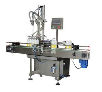 Npack High Efficiency Manufacturing Servo Motor Automatic Detergent Filling Machine for Bottle