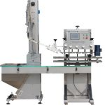 Npack NP-LC Manufacturing Linear Type Automatic Glass Bottle Cap Sealing Machine with Touch Screen