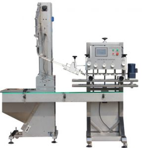Npack Shanghai Spindle Screwing Automatic Detergent Cleaning Liquid Bottle Twist Off Capping Machine