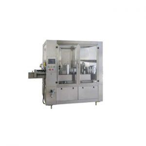 Npack Easy Operate Factory High Speed Plastic Bottle Hot Melt Glue Labeling Machine with Elevator