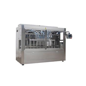 Npack Manufacturing Servo Motor Piston Linear Type 1l-5l Factory Price Lubricate Oil Filling Machine