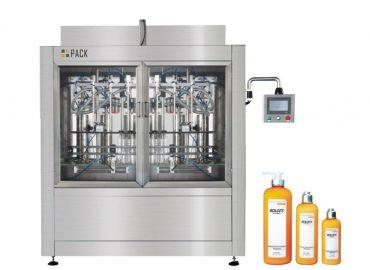 Npack High Speed Manufacturing Servo Motor Driven Automatic High Capacity Bleach Filling Machine