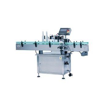 Npack Manufacturing Automatic Two Sides Linear Type Double Heads Horizontal Labeling Machine
