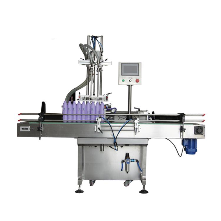 Npack Automatic Economic Driven Piston 100ml-1l Dishwashing Detergent Cleaning Filling Machine for Bottle