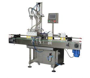 Npack PlC Control Servo Motor Driven Linear Type Pneumatic Plastic Bottle 100ml-1l Piston Liquid Filling Machine