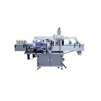 NPACK high speed Double Sides Bottle Automatic Labeling Machine Price for Flat Square and Round Bottles