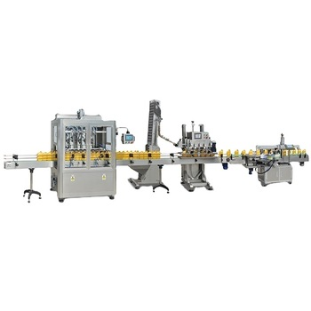Npack Factory Automatic Coconut/Cooking/Edible/Olive/Soybean/Sunflower Oil Filling Machine Price,Oil Filling Production Line