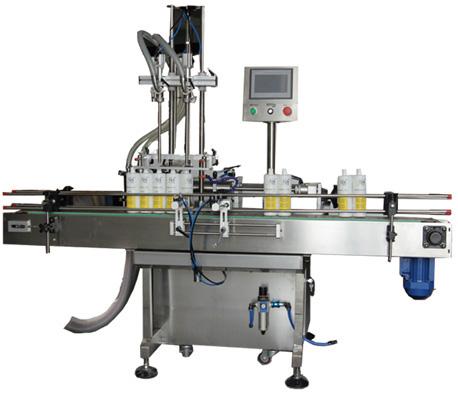 Npack Servo Motor Economic Piston Volumetric Automatic 1L-5L Liquid Detergent Filling Machine