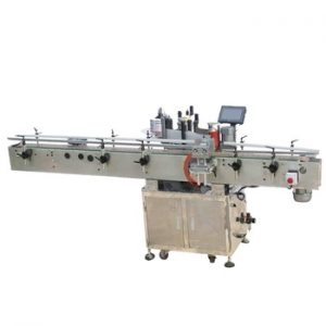Npack Manufacturing High Speed Automatic 100ml Bottle Stickers Orientation Position Labeling Machine