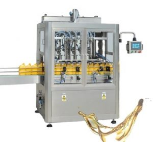 Npack High Speed Piston Linear Type Servo Motor Driven 1l-5l Car/Lube Oil Filling Machine for Bottle/Pail