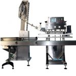 Npack High Quality Spindle Screwing Manufacturing Rotary Wine Bottle Glass Jar Capping Machine