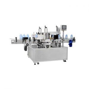 Npack High Quality Servo Motor 50-100BPM Top Labeling Machine Two Sides for PET Glass Bottle
