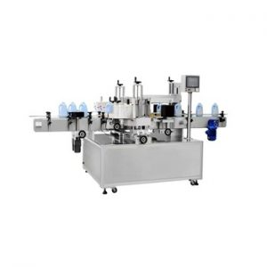 Npack Manufacturing Servo Motor 40-100BPM One Side Double Sides Labeling Machine for Plastic Bottle