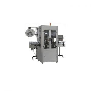 Npack High Speed Automatic Plastic Bottle Sleeving Labeling Machine with Date Code Printer Labeller