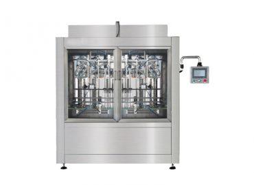 Npack Servo Motor 12 10 8 Nozzle Manufacturing High Speed Automatic Hand Sanitizer Filling Machine