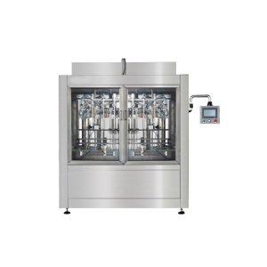 Npack Easy Operate Manufacturing Servo Motor Automatic Bottling Liquid Bleach Filling Machine