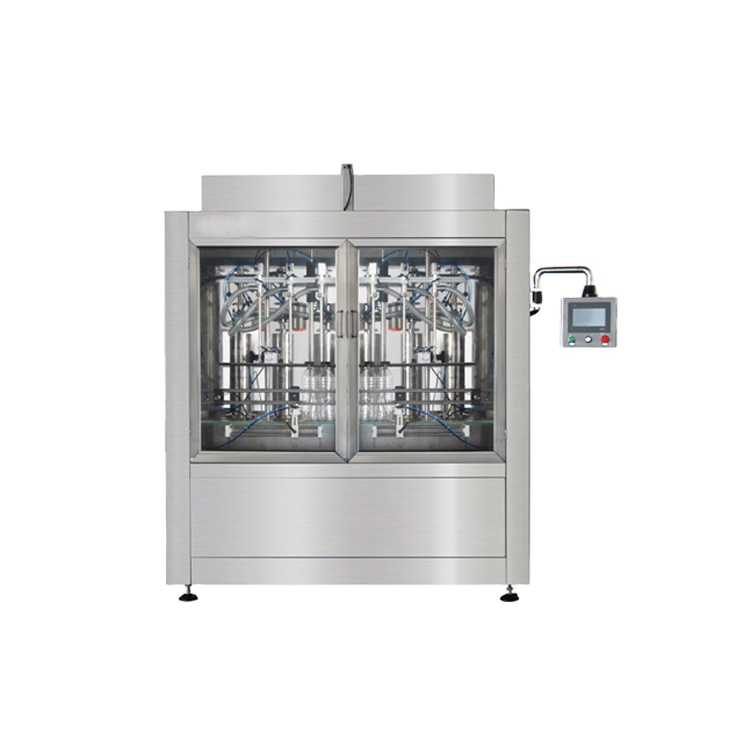 Npack Easy Operate Manufacturing Automatic Linear Type Olive Oil Filling Machine Glass Bottle