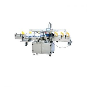 Npack Shanghai Full Automatic High Speed Sticker Double Side Square Bottle Labeling Machine for Shower Gel