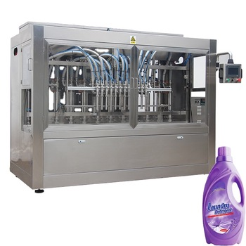 Npack 100ml-1l NP-VF Servo Motor Linear Type Automatic Piston Detergent Filling Machine for Bottle