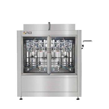 Npack Piston Linear Type Servo Motor NP-VF Automatic 100ml-1l Liquid Filling Machine for Bottle