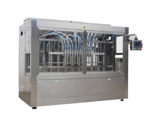 Npack Piston Linear Type Servo Motor Driven Automatic 10 Nozzle High Speed Oil Filling Machine for Pail/Bottle