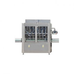 NPACK Automatic1-5L HDPE bottle jar motor lube engine oil liquid piston filling machine
