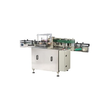 Npack Automatic Customizable Plastic Bottle Stickers Wet Glue Labeling Machine with Date Code Printer Labeller