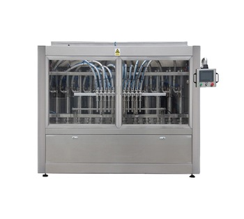 Npack Factory Manufacturing Servo Motor Driven Automatic Economy Filling Lotion Machine Price