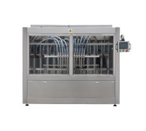 Npack Factory Price Full Automatic Piston 5L Liquid Detergent Bottle Filling Machine With Touch Screen