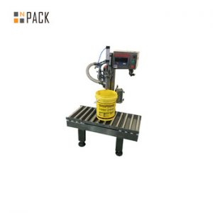 semi automatic 20l weighing filling machine
