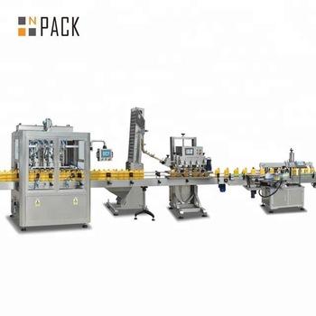NPACK linear piston type Automatic Sunflower Oil Filling Line Sunflower Oil