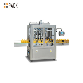 Automatic Lube Oil Bottle Filling Capping Machine
