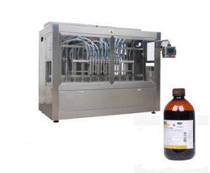 Npack NP-VF 100ml-500ml Manufacturing Servo Motor Driven Bottle Piston Pesticide Filling Machine