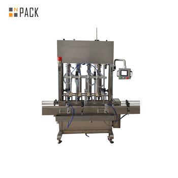 Pneumatic bleach liquid filling machine