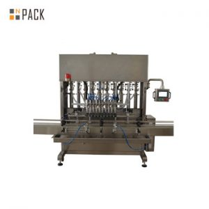 automatic gravity chemical bottle filler