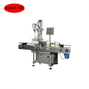 Servo Motor Piston Cream Cheese Filling Machine
