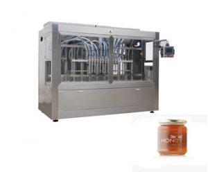 Factory Line Glass Jar Honey Filling Machine